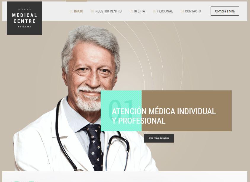 Web para clínica estética