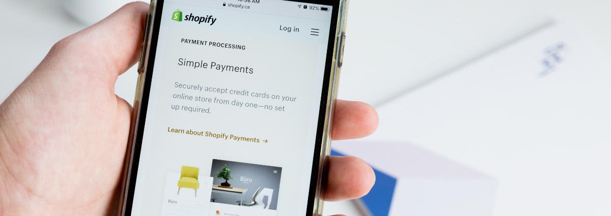 Productos novedosos para vender con Shopify