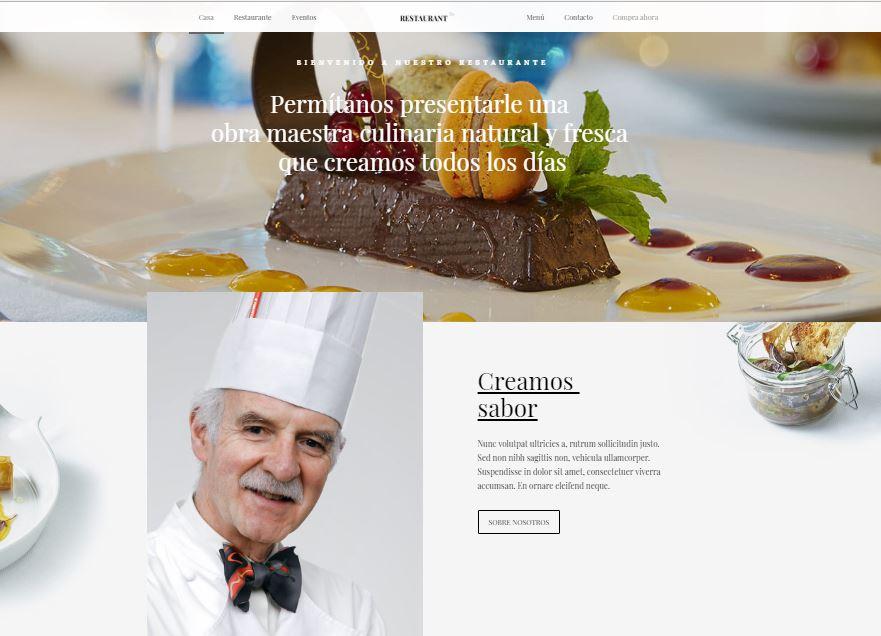 Web-para-restaurantes