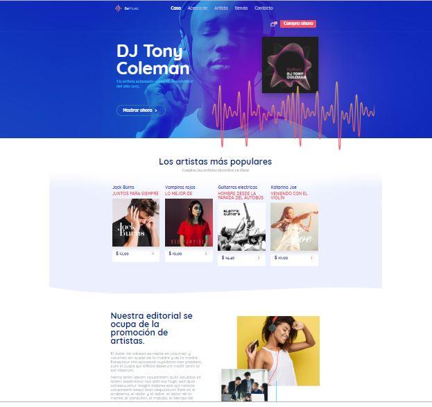 web-para-cantantes