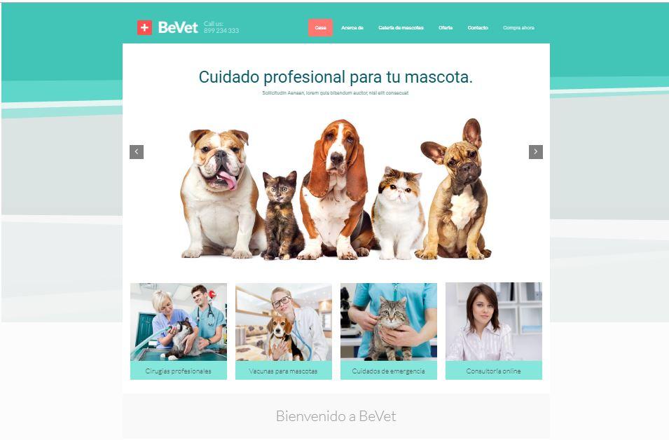 web-para-clinica-veterinaria