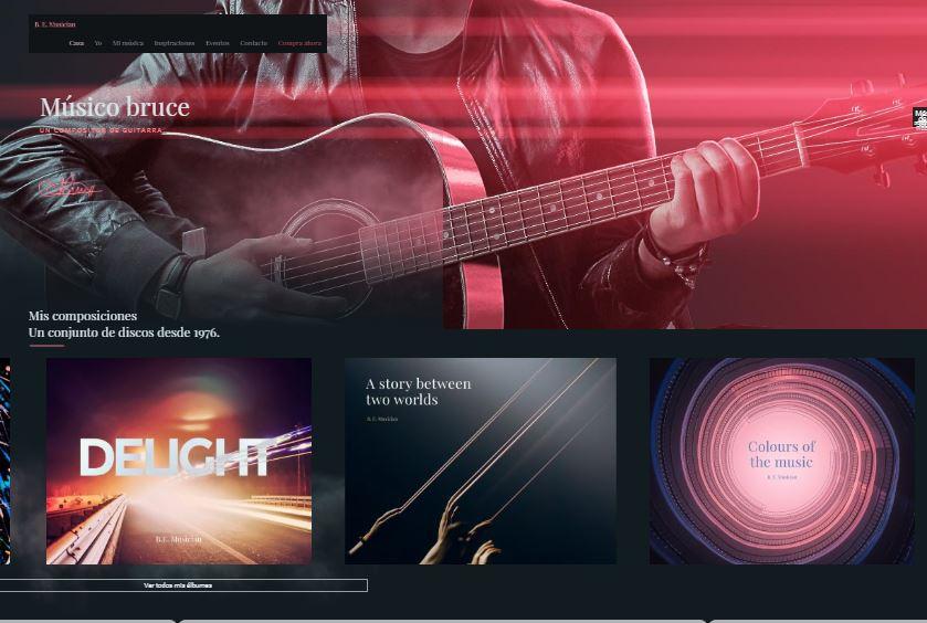 web-para-grupos-de-musica